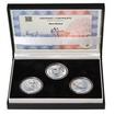 BENO BLACHUT – návrhy mince 500,-Kč - sada tří Ag medailí 1 Oz Proof