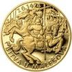 Bitva u Malešova - 590. výročí zlato proof