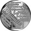 Česká jména - Bohumila - velká stříbrná medaile 1 Oz