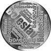 Česká jména - Boleslav - velká stříbrná medaile 1 Oz
