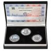 ZALOŽENÍ ČESKÝCH BUDĚJOVIC - návrhy mince 200,-Kč - sada tří Ag medail