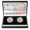 Chatam Sofer - návrhy mince 10 € sada Ag medailí 1 Oz b.k.