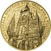 Zlatá investiční medaile  Katedrála sv. Víta, Václava a Vojtěcha - 1 K