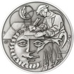 Cyprián Karásek ze Lvovic - 500. výročí narození stříbro patina