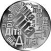 Česká jména - Dita - velká stříbrná medaile 1 Oz