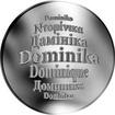 Česká jména - Dominika - stříbrná medaile