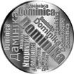 Česká jména - Dominika - velká stříbrná medaile 1 Oz