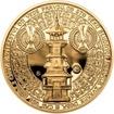 Sada zlatého dukátu a stříbrného odražku Dušan Samuel Jurkovič - proof