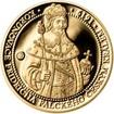 Sada zlatého dukátu a stříbrného odražku Korunovace Fridricha Falckého