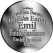 Česká jména - Emil - velká stříbrná medaile 1 Oz