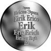 Česká jména - Erik - stříbrná medaile