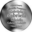 Česká jména - Gabriela - stříbrná medaile