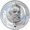 Galileo Galilei - 450. výročí narození stříbro proof
