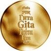 Česká jména - Gita - zlatá medaile
