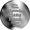 Česká jména - Hana - velká stříbrná medaile 1 Oz