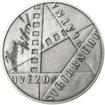 Hana Vítová - 100. výročí narození stříbro patina