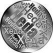 Česká jména - Heda - velká stříbrná medaile 1 Oz