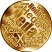 Česká jména - Heda - velká zlatá medaile 1 Oz