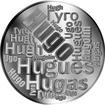 Česká jména - Hugo - velká stříbrná medaile 1 Oz