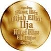 Česká jména - Ilja - zlatá medaile