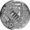Česká jména - Irma - velká stříbrná medaile 1 Oz
