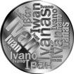 Česká jména - Ivan - velká stříbrná medaile 1 Oz