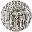 Jan Opletal - 75. výročí úmrtí stříbro patina