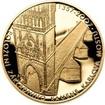 Sada zlatého dukátu a stříbrného odražku Karlův most - proof