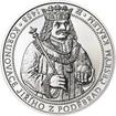 550 let od korunovace Jiřího z Poděbrad českým králem - stříbro  - b.k
