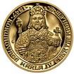 660 let od Korunovace Karla IV. českým králem  - zlato Proof