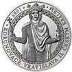Korunovace Vratislava II českým králem - stříbro b.k.