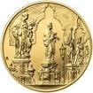 Královské hlavní město Praha - zlato 1/2 Oz b.k.