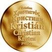 Česká jména - Kristián - zlatá medaile