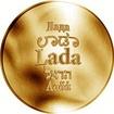 Česká jména - Lada - zlatá medaile