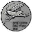 Letadlo Bohemia - 1 Oz stříbro patina