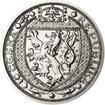 Lev a Orlice - stříbro 1 Oz b.k.