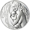 Mamince 50 mm stříbro patina