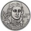 Markéta Lucemburská - 700. výročí narození Ag patina