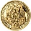 Sada zlatého dukátu a stříbrného odražku Menší Město pražské - proof
