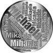 Česká jména - Michaela - velká stříbrná medaile 1 Oz