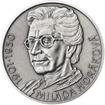 Milada Horáková - stříbro malá patina