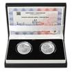 Nalezisko opálov - návrhy mince 20 € sada Ag medailí 1 Oz b.k.