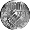 Česká jména - Nela - velká stříbrná medaile 1 Oz