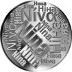 Česká jména - Nina - velká stříbrná medaile 1 Oz