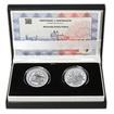 Nitrianske knieža Pribina - návrhy mince 100 € sada Ag medailí 1 Oz b.