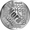 Česká jména - Nora - velká stříbrná medaile 1 Oz