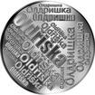 Česká jména - Oldřiška - velká stříbrná medaile 1 Oz