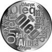 Česká jména - Oleg - velká stříbrná medaile 1 Oz
