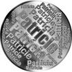 Česká jména - Patricie - velká stříbrná medaile 1 Oz