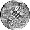 Česká jména - Petr - velká stříbrná medaile 1 Oz